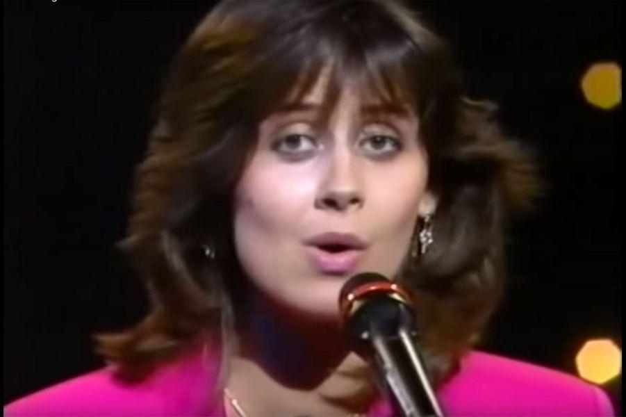 Lara Fabian en 1988 pour le Luxembourg