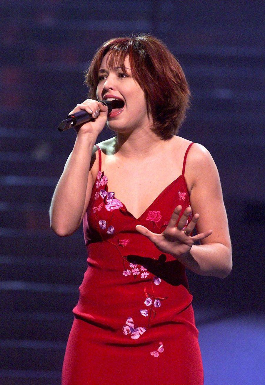 Natasha St-Pier en 2001 pour la France