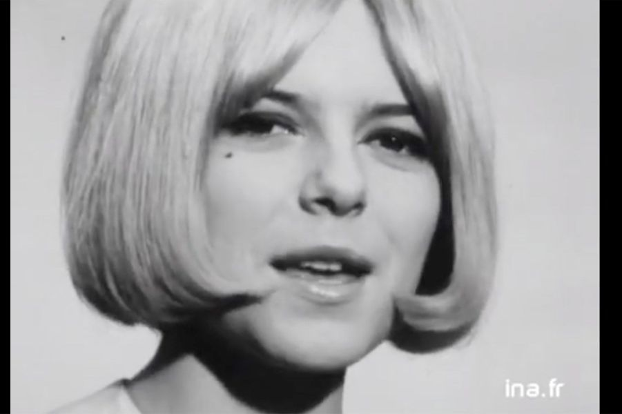 France Gall en 1965 pour leLuxembourg