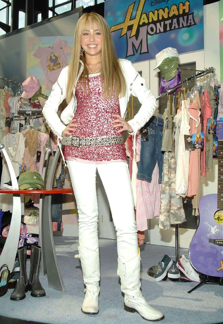 Miley Cyrus, Hannah Montana dans «Hannah Montana»