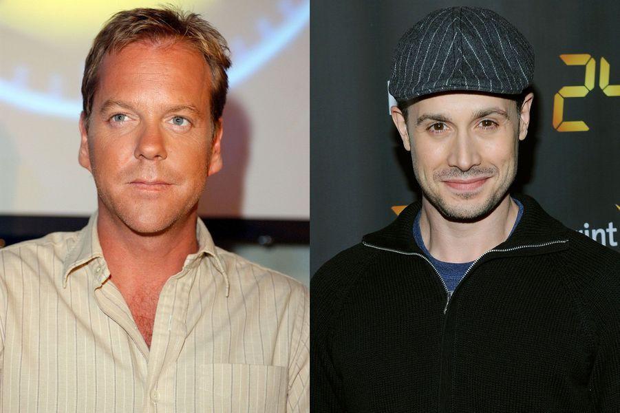 "Kiefer Sutherland et Freddie Prinze Jr. de ""24 heures chrono"""