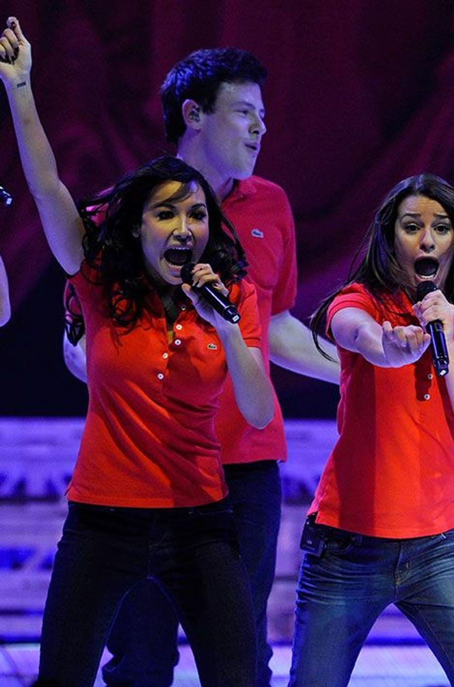 Naya Rivera et Lea Michele