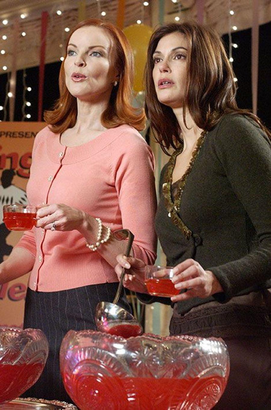 """Teri Hatcher et Marcia Cross de """"Desperate Housewives"""""""