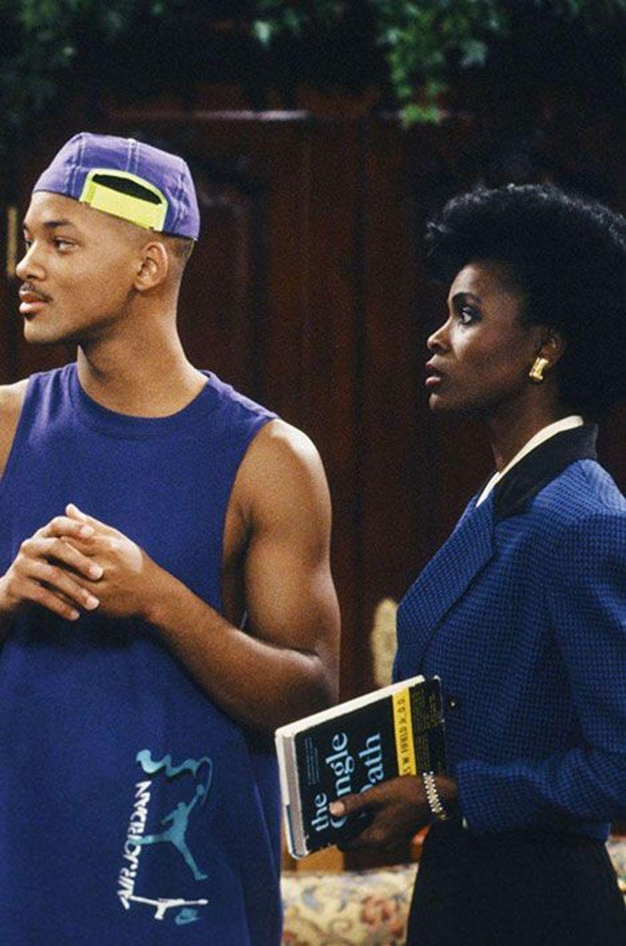 """Will Smith et Janet Hubert du """"Prince de Bel-Air"""""""