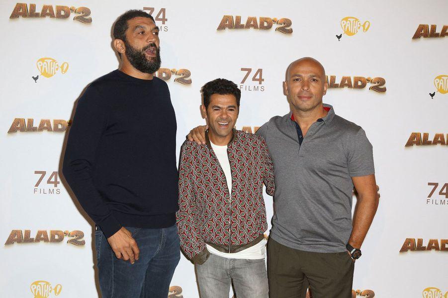 """Ramzy Bedia, Jamel Debbouze et Eric Judor jouaient dans """"H"""" en 2018"""