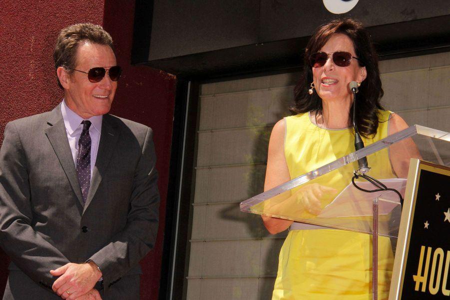 """Jane Kaczmarek et Bryan Cranston de """"Malcolm"""", ici en 2013"""