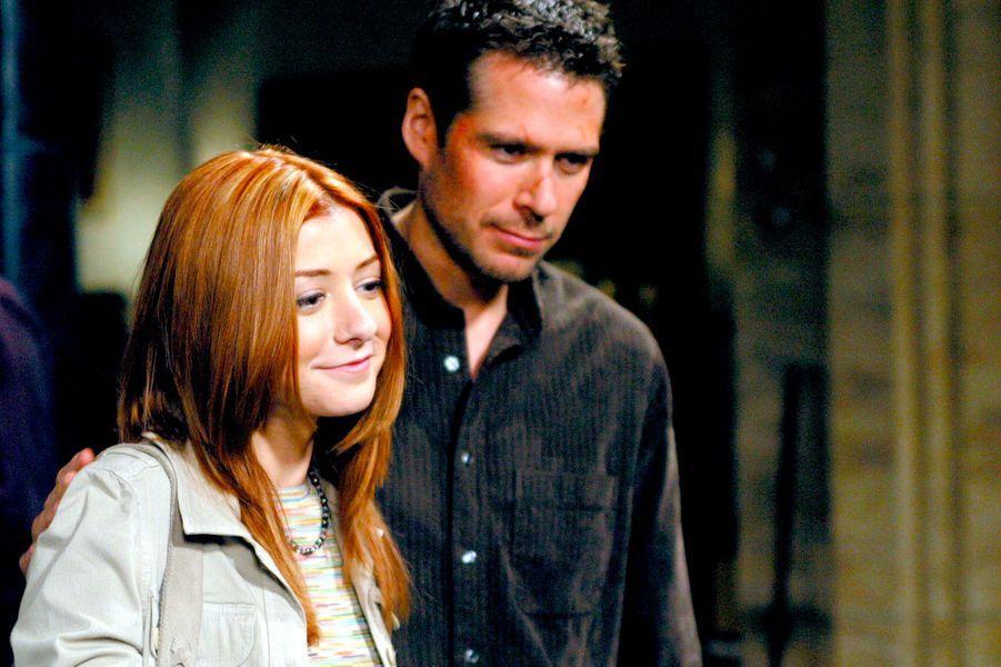 "Alyson Hannigan et Alexis Denisof de ""Buffy contre les vampires"""
