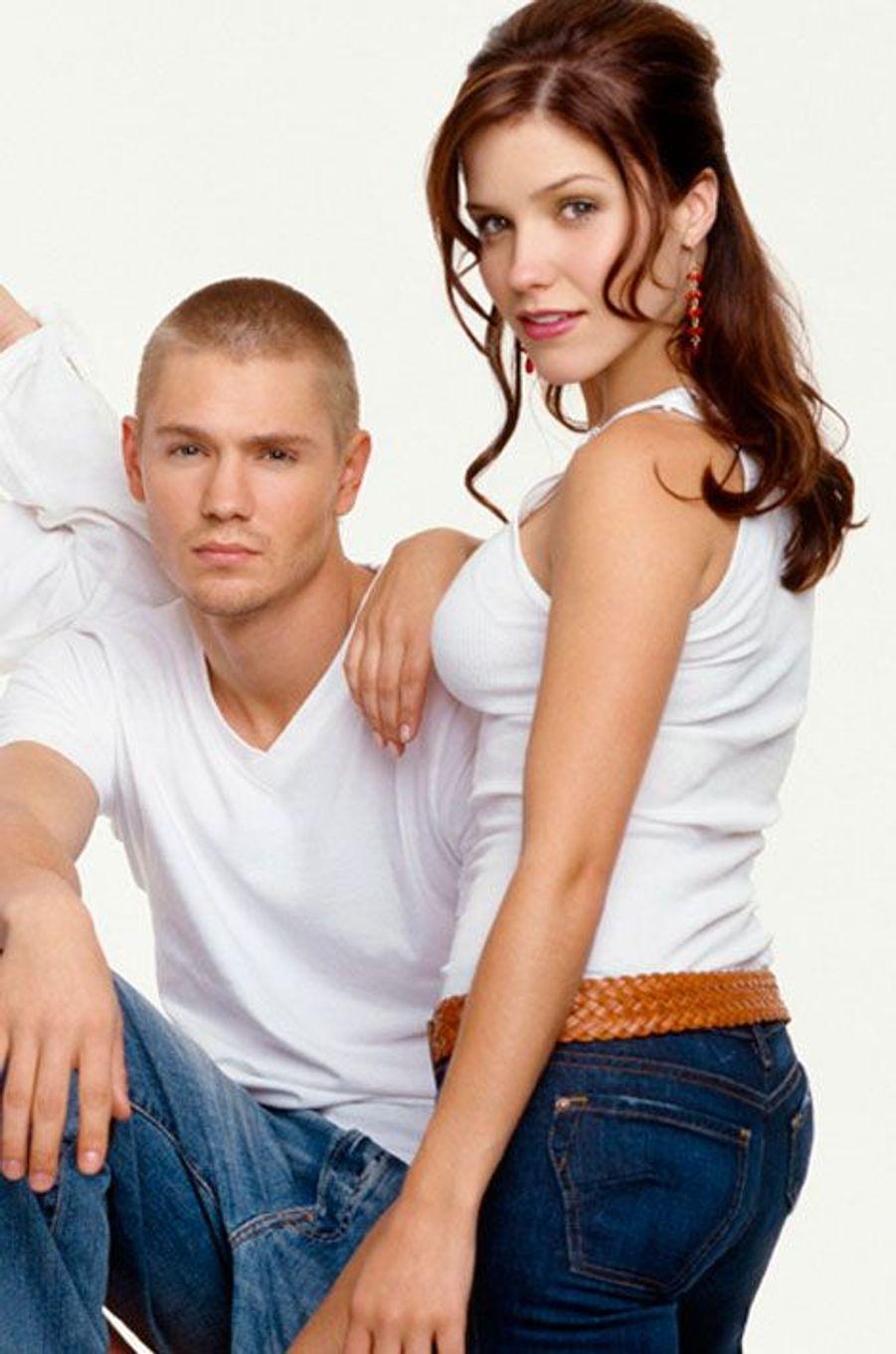 """Chad Michael Murray et Sophia Bush des """"Frères Scott"""""""