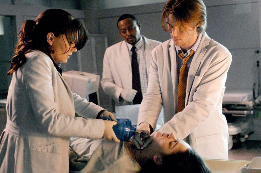 """Jennifer Morrison et Jesse Spencer dans """"Docteur House"""""""