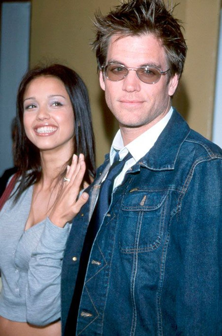 Jessica Alba et Michael Weatherly