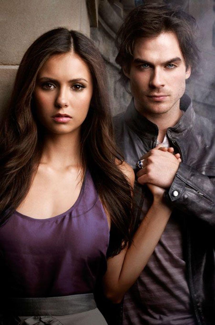 """Nina Dobrev et Ian Somerhalder de """"Vampire Diaries"""""""