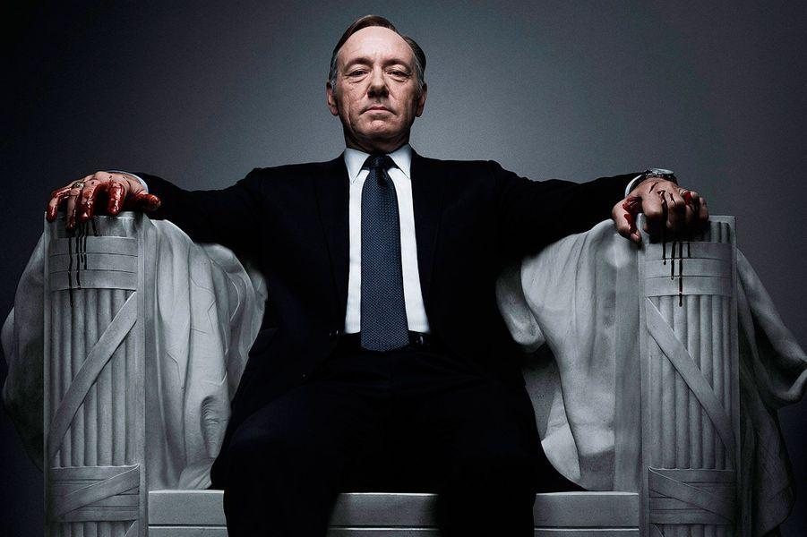 "15- Kevin Spacey de ""House of Cards"" : 9,5 millions de dollars"