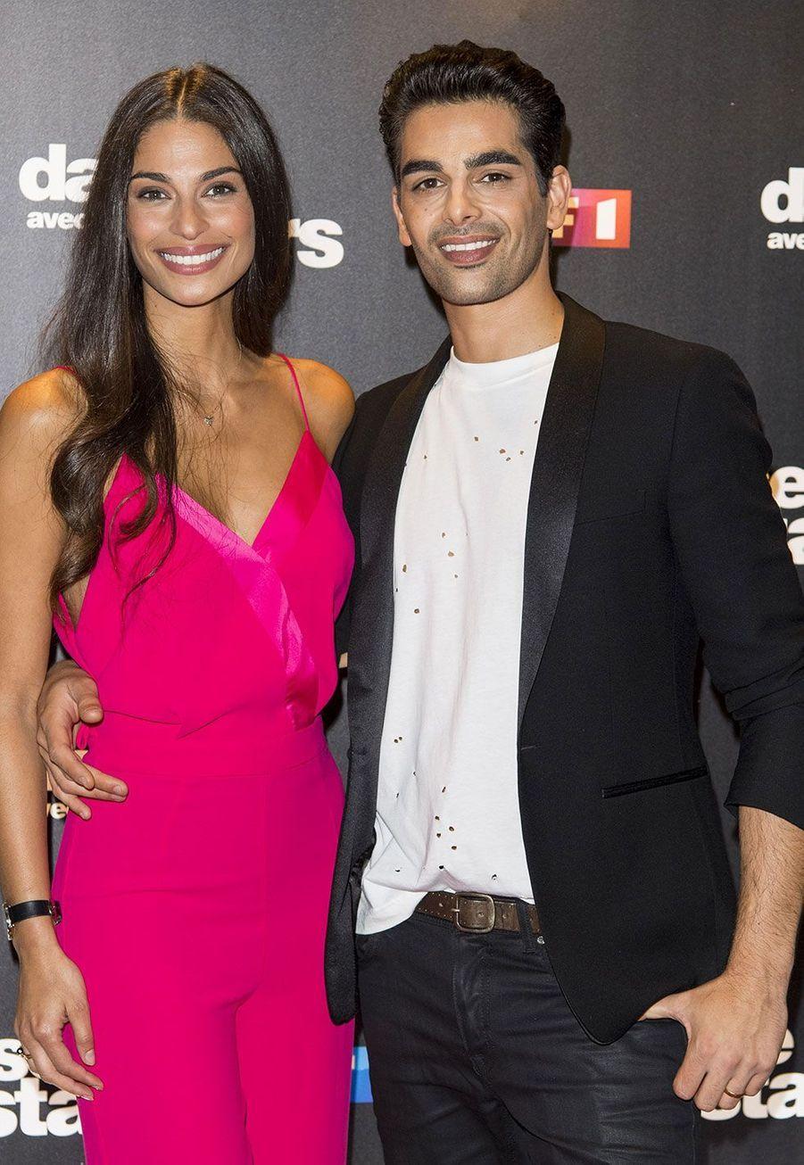 Tatiana Silva et son danseur Christophe Licata