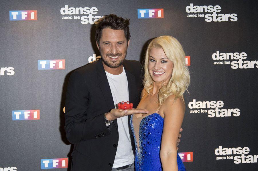 Vincent Cerutti et sa danseuse Katrina Patchett