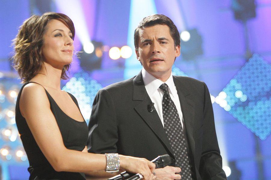"""L'émission """"Stars de l'année"""" avec Virginie Guilhaume en 2007"""