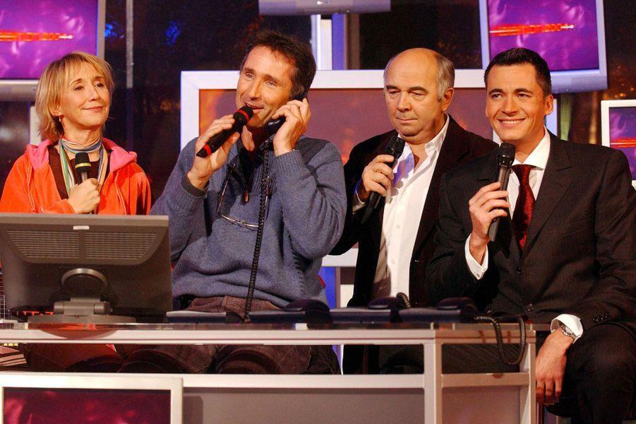 """Lors du """"Téléthon"""", en 2004"""