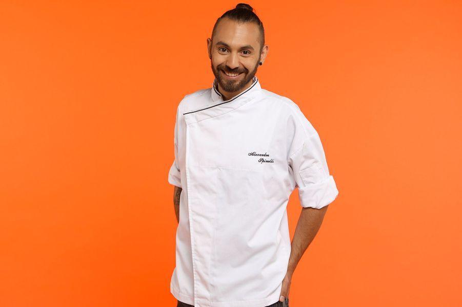 """Alexandre, 25 ans, 1er Chef de partie """"La chèvre d'or"""", Eze-sur-mer"""