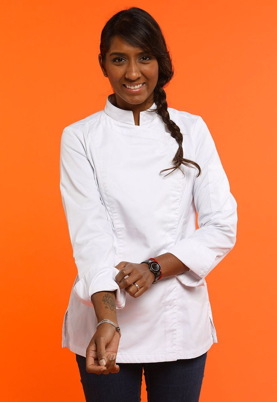 "Kelly, 28 ans, Chef du restaurant ""Le Boutary"", Puteaux"