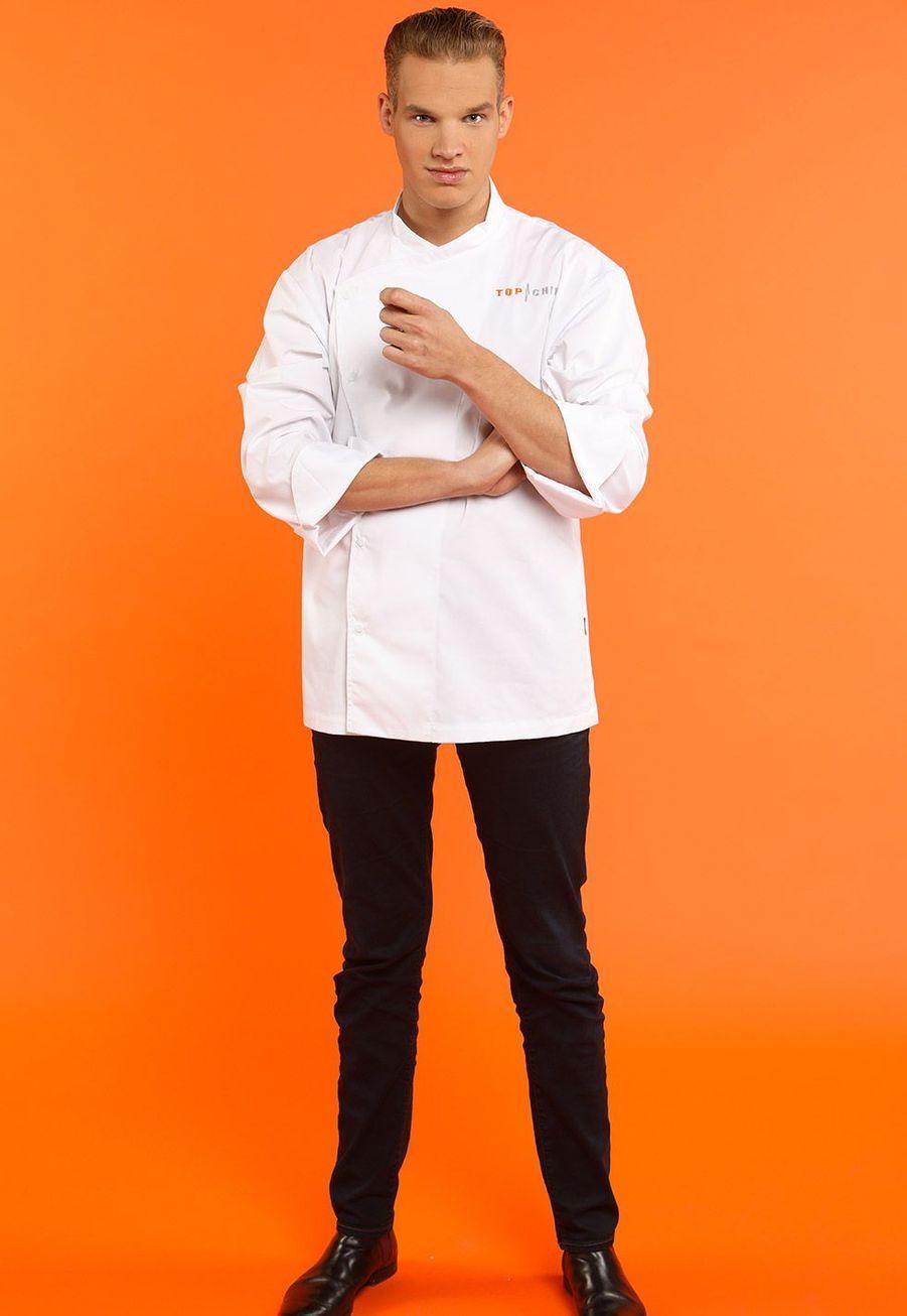 """Maximilien, 23 ans, Chef de cuisine """"Les pieds dans le plat"""", Marloie (Belgique)"""
