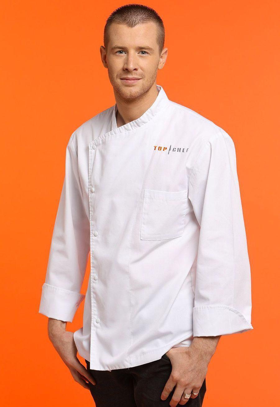 """Mickael,23 ans, Chef de cuisine """"L'auberge du moulin"""", Saint Sorlin-en-Valloire"""