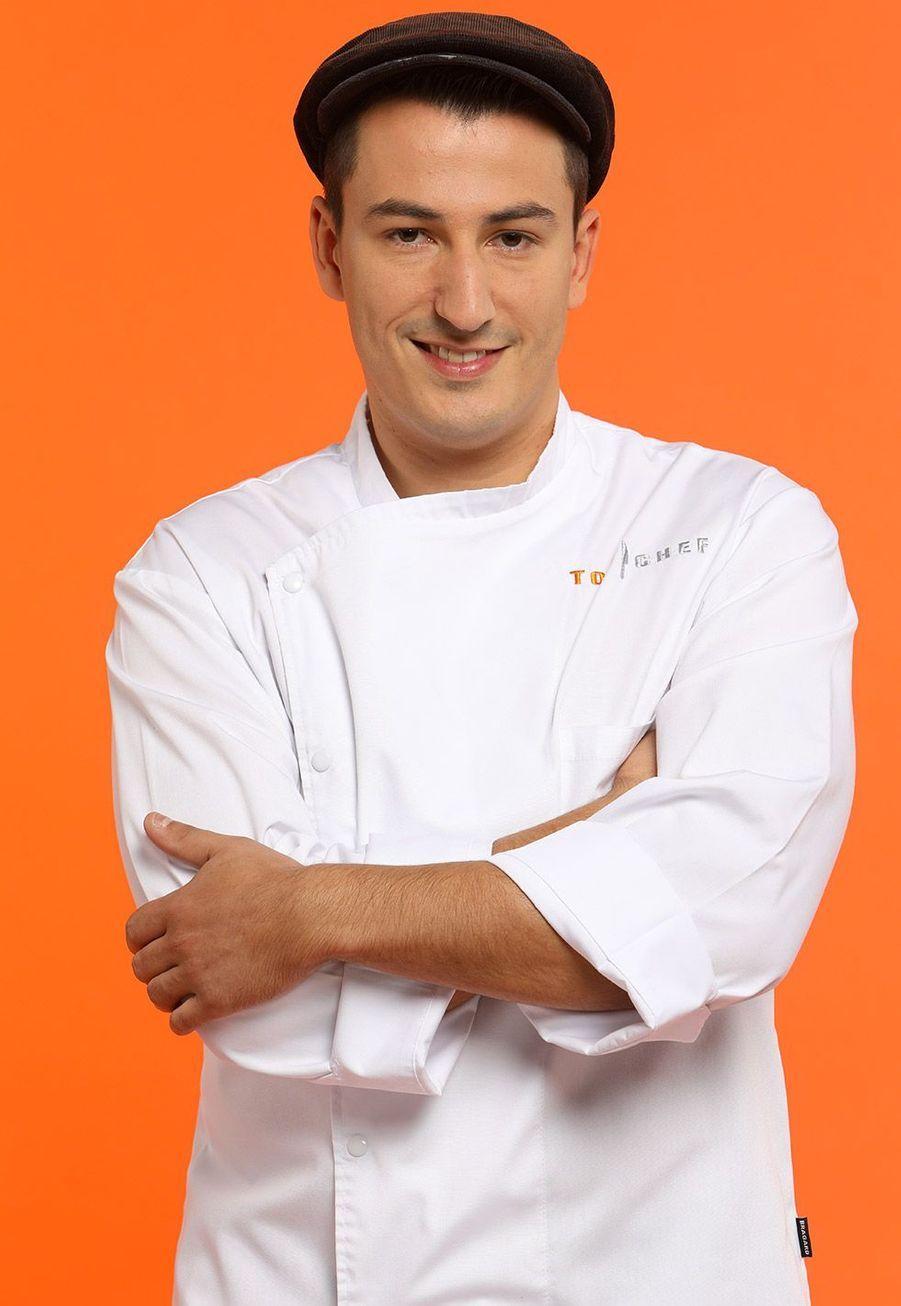 """Jérémie, 27 ans,Chef gérant """"La Tour des sens"""",Tencin"""