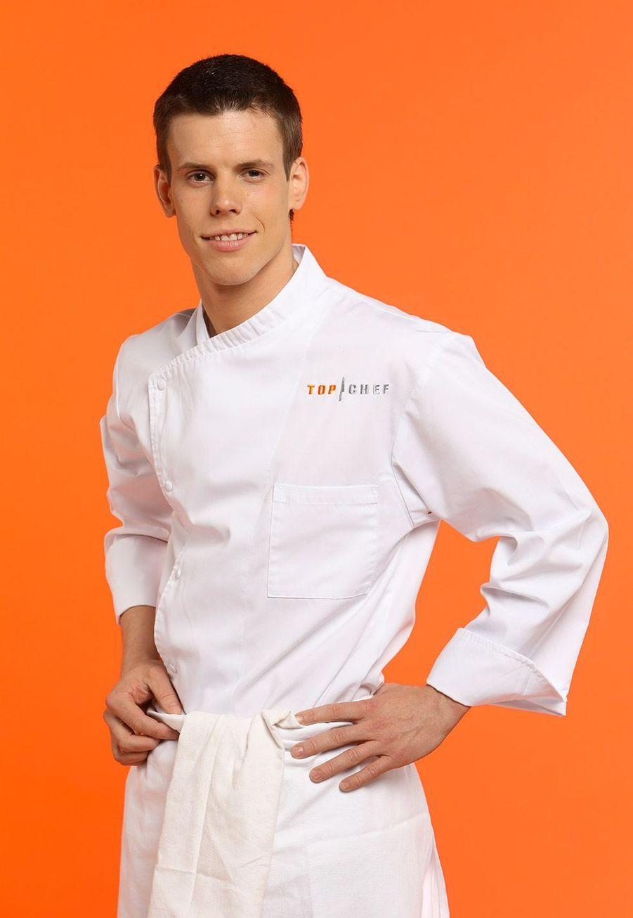 """David, 23 ans, Sous-Chef et membre de la direction de l'hôtel-restaurant 4 étoiles """"L'Esturgeon"""", Poissy"""