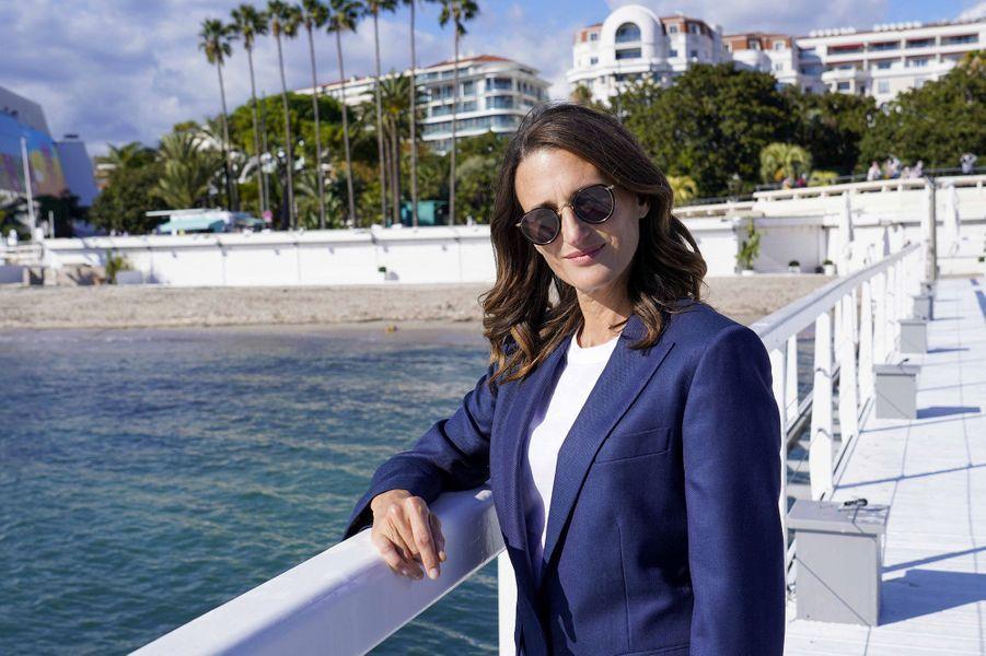 """Camille Cottin au festival Canneséries, mardi pour """"Dix pour cent"""""""