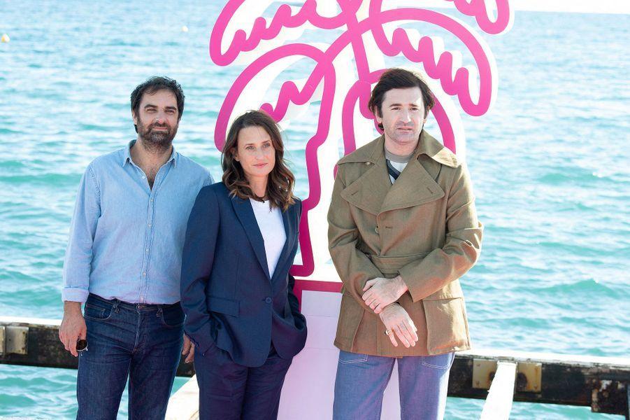"""Grégory Montel,Camille Cottin et Nicolas Maury de """"Dix pour cent"""""""