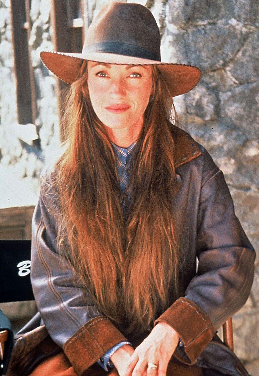 """Jane Seymour (Dr Michaela Quinn) dans """"Docteur Quinn, femme médecin"""""""