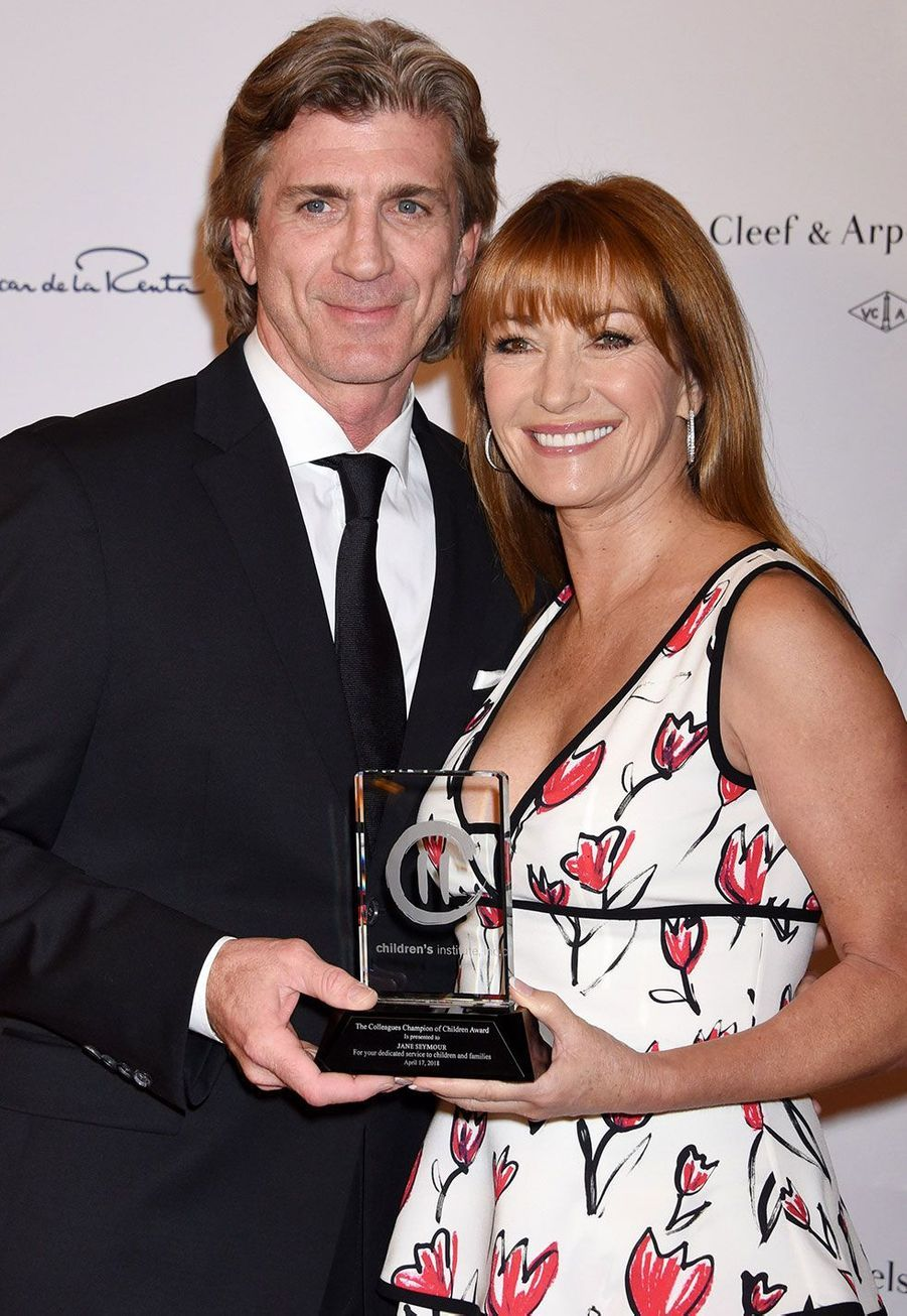 Joe Lando (Sully) en 2018, avec Jane Seymour