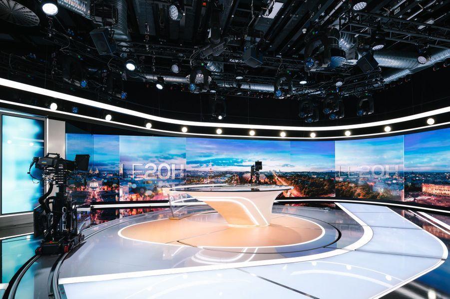 Le nouveau décor des JT de TF1.
