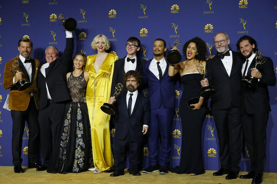 L'équipe de «Game of Thrones» (HBO), Meilleure série dramatique