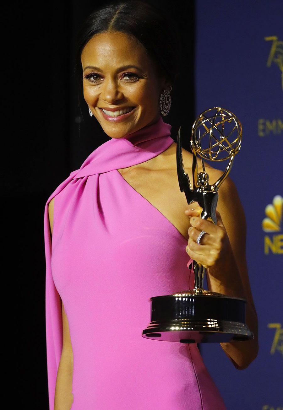 Thandie Newton,Meilleur second rôle féminin dans une série dramatique pour «Westworld» (HBO)