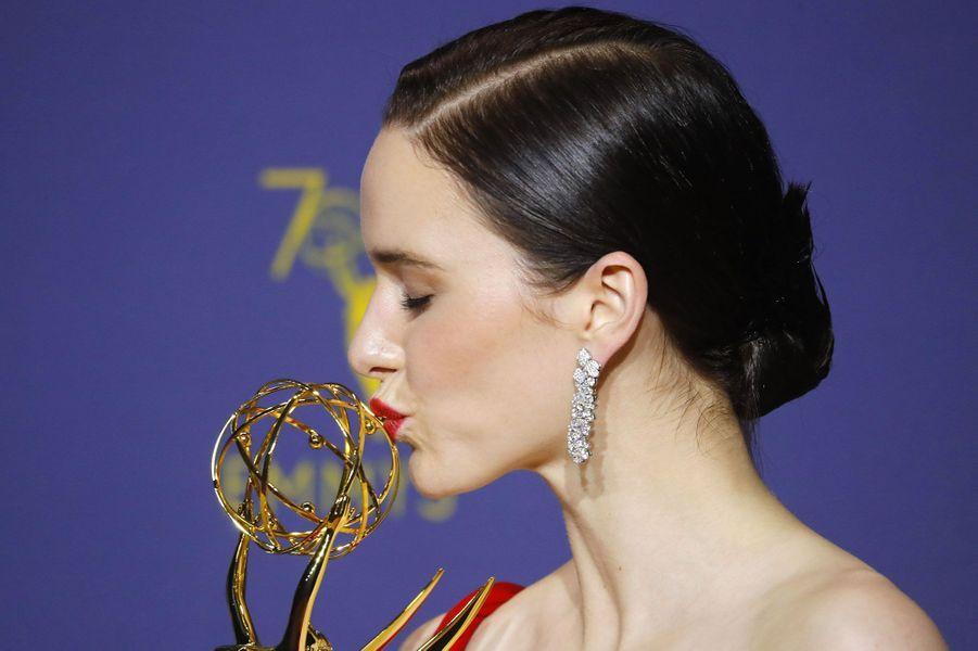 Rachel Brosnahan, Meilleure actrice dans une série, comédie pour «La fabuleuse Mme Maisel» (Amazon)