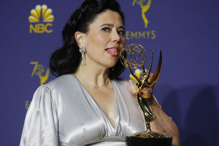 Alex Borstein, Meilleur second rôle dans une comédie pour «La fabuleuse Mme Maisel» (Amazon)