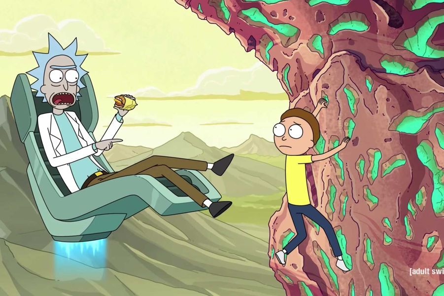 "8- ""Rick and Morty"""