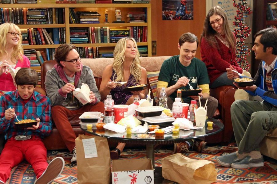 "6- ""The Big Bang Theory"""