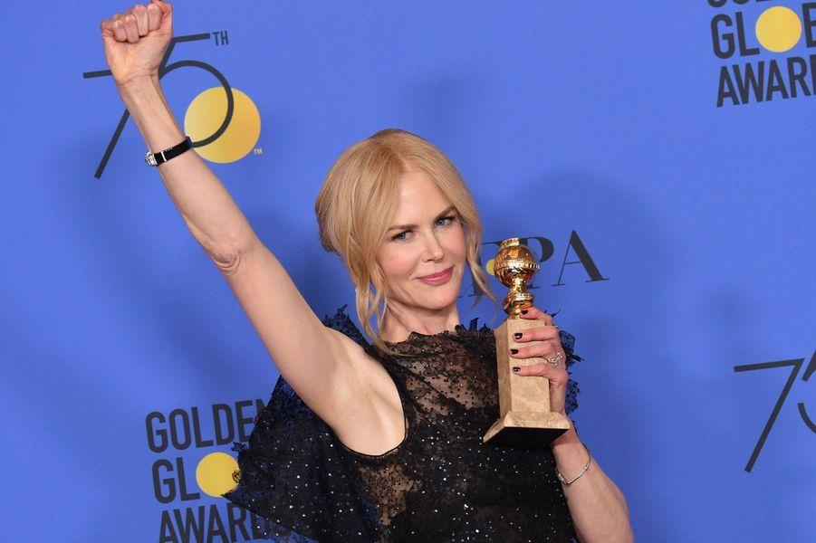 """Meilleure actrice dans une mini-série : Nicole Kidman, """"Big Little Lies"""""""