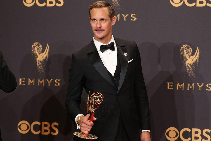 """Meilleur acteur dans un second rôle dans une mini-série :Alexander Skarsgård, """"Big Little Lies"""""""