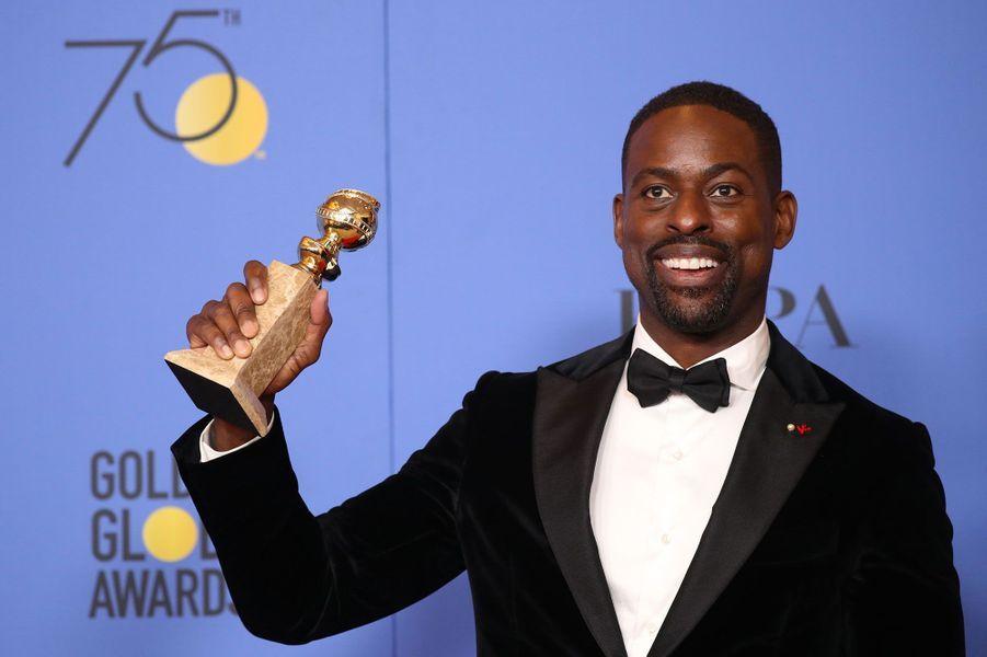 Meilleur acteur dans une série dramatique :Sterling K. Brown