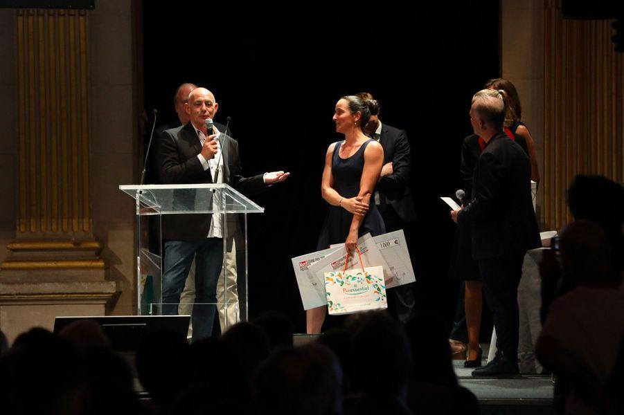 Cérémonie du Grand Prix 2019 du Photoreportage Etudiant, Mairie de Paris, le 9 juillet 2019