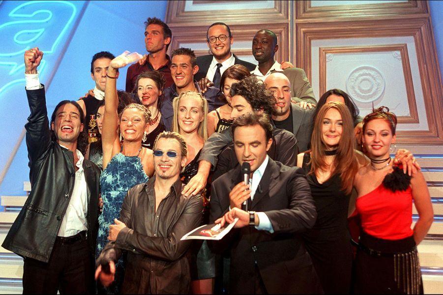 Le lancement de la première saison de la «Star Academy», sur TF1, s'est déroulé le 20 octobre 2001