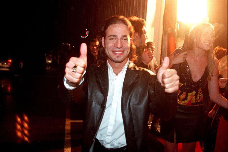 Mariolors du lancement de la première saison de la «Star Academy», sur TF1, le 20 octobre 2001