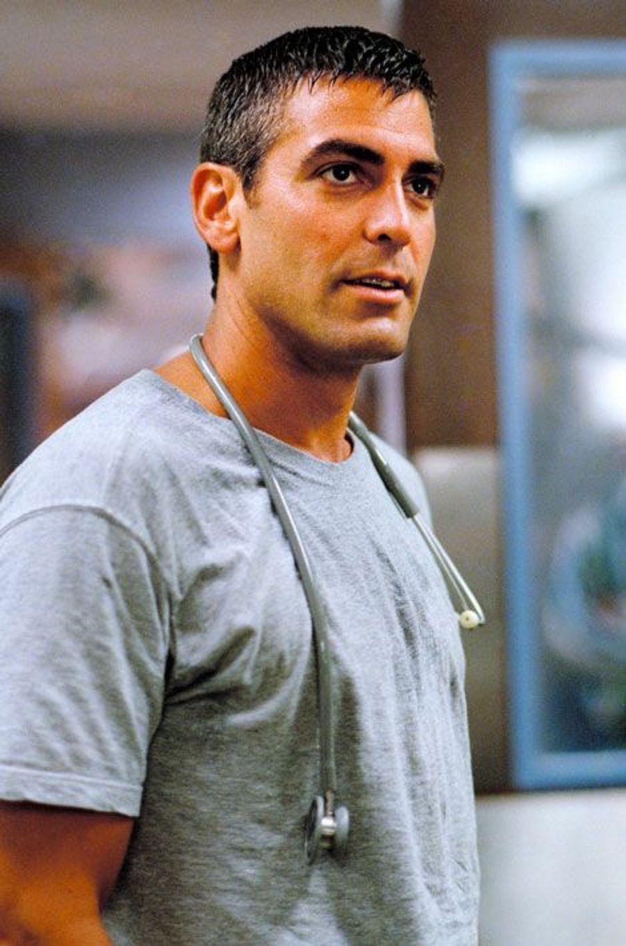 "George Clooney dans ""Urgences"""