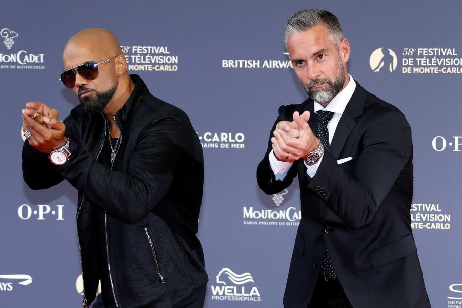 Shemar Moore et Jay Harrington
