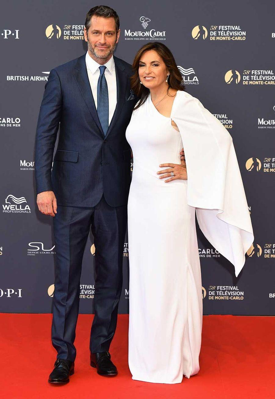 Mariska Hargitay et son mari Peter Hermann