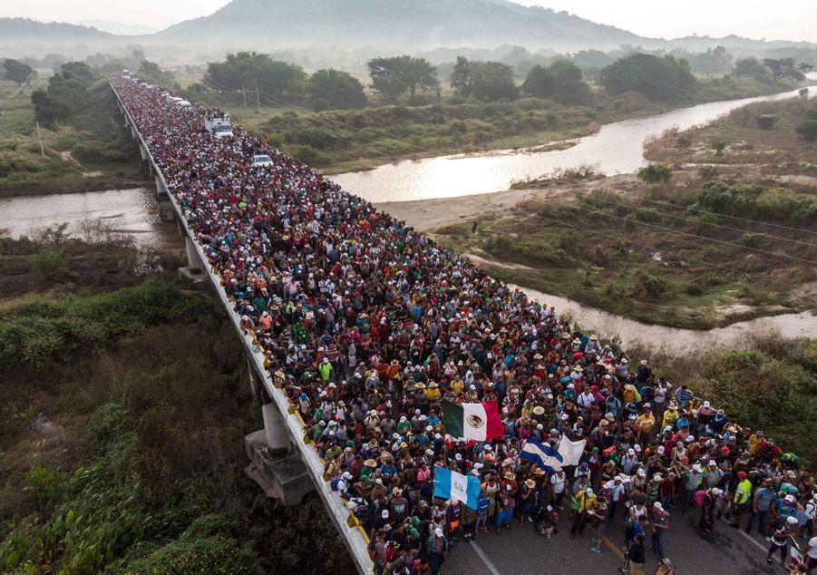 1er prix dans la catégorie story news :Guillermo Arias - En Amérique du Sud, la longue marche des candidats à l'exil vers les Etats-Unis.