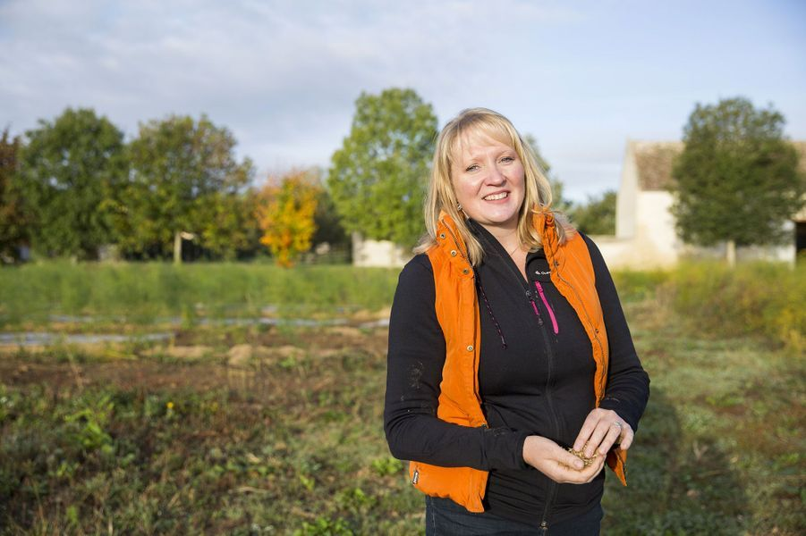 Sophie-Elodie, 36 ans, maraîchère etaspergicultrice (Normandie)