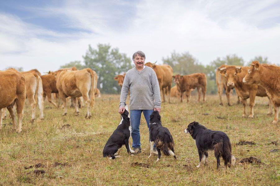 Didier, 56 ans, éleveur de vaches allaitantes (Aveyron)