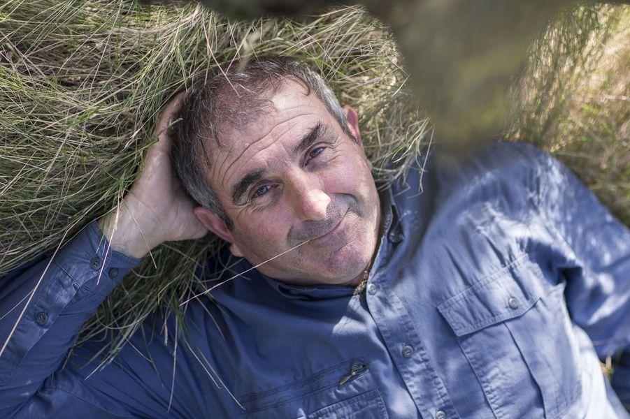 Francis, 60 ans, est viticulteur (Aude)